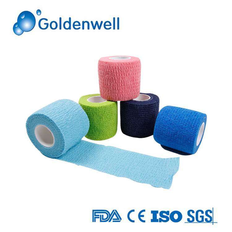 Colored Elastic Self-adhesive Bandages for Pets Horse Finger Wrap