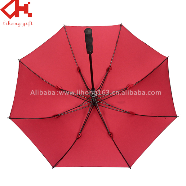2016 newest Golf Advertising UV protection Umbrella With Logo