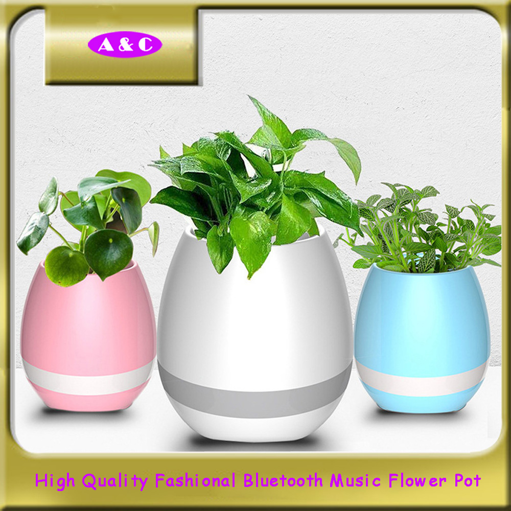 Customized Professional Good price of music flower pot for office and home
