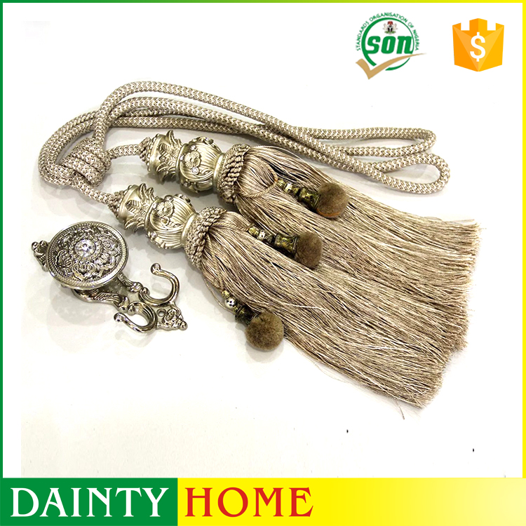 Direct Factory Price Customized Beaded Trim Fringe For Curtains