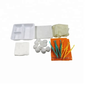 CE ISO FDA Approved Dressing Pack Medical disposable general surgical instruments set
