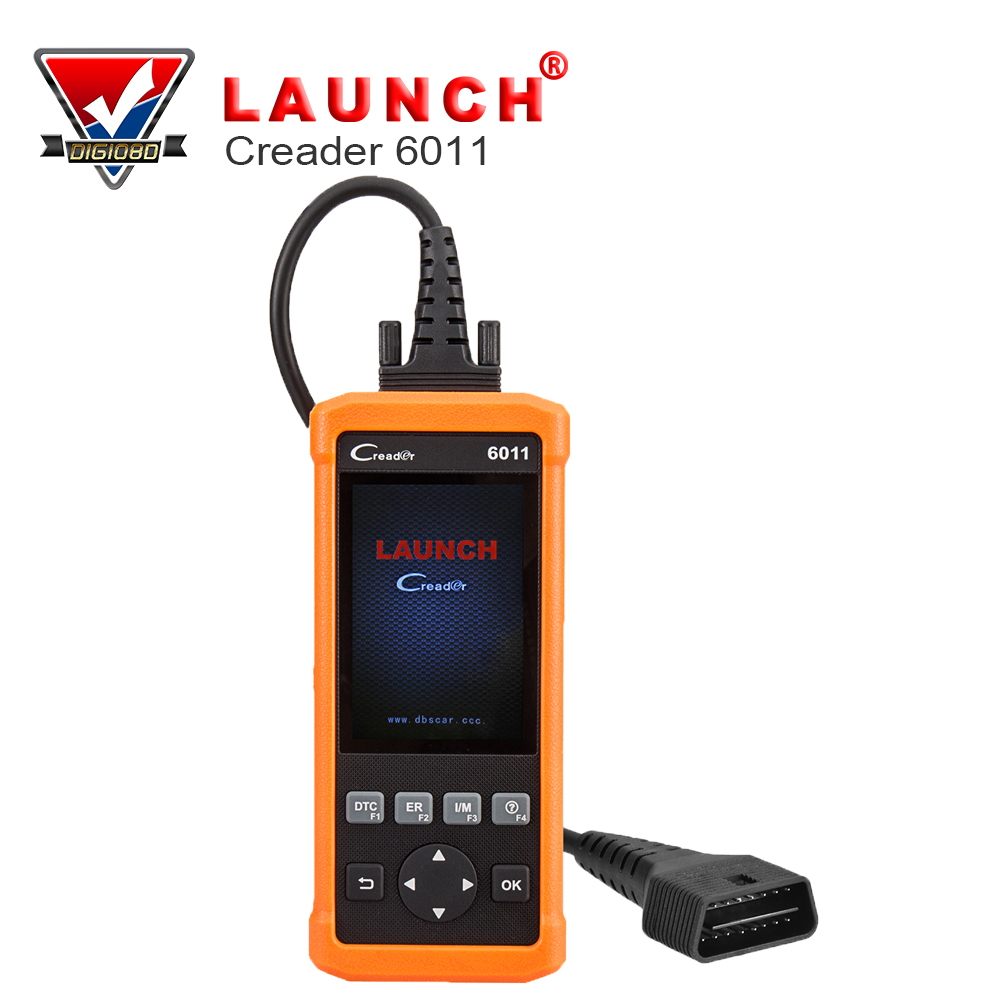 Economical Car Diagnostic Tool of Launch CReader 6011 with Basic ABS and SRS Diagnosis Functions