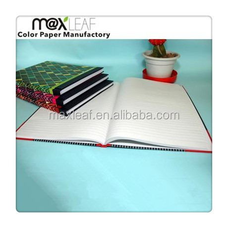 Chinese college customs printed waterproof cover cheap composition writing notebooks