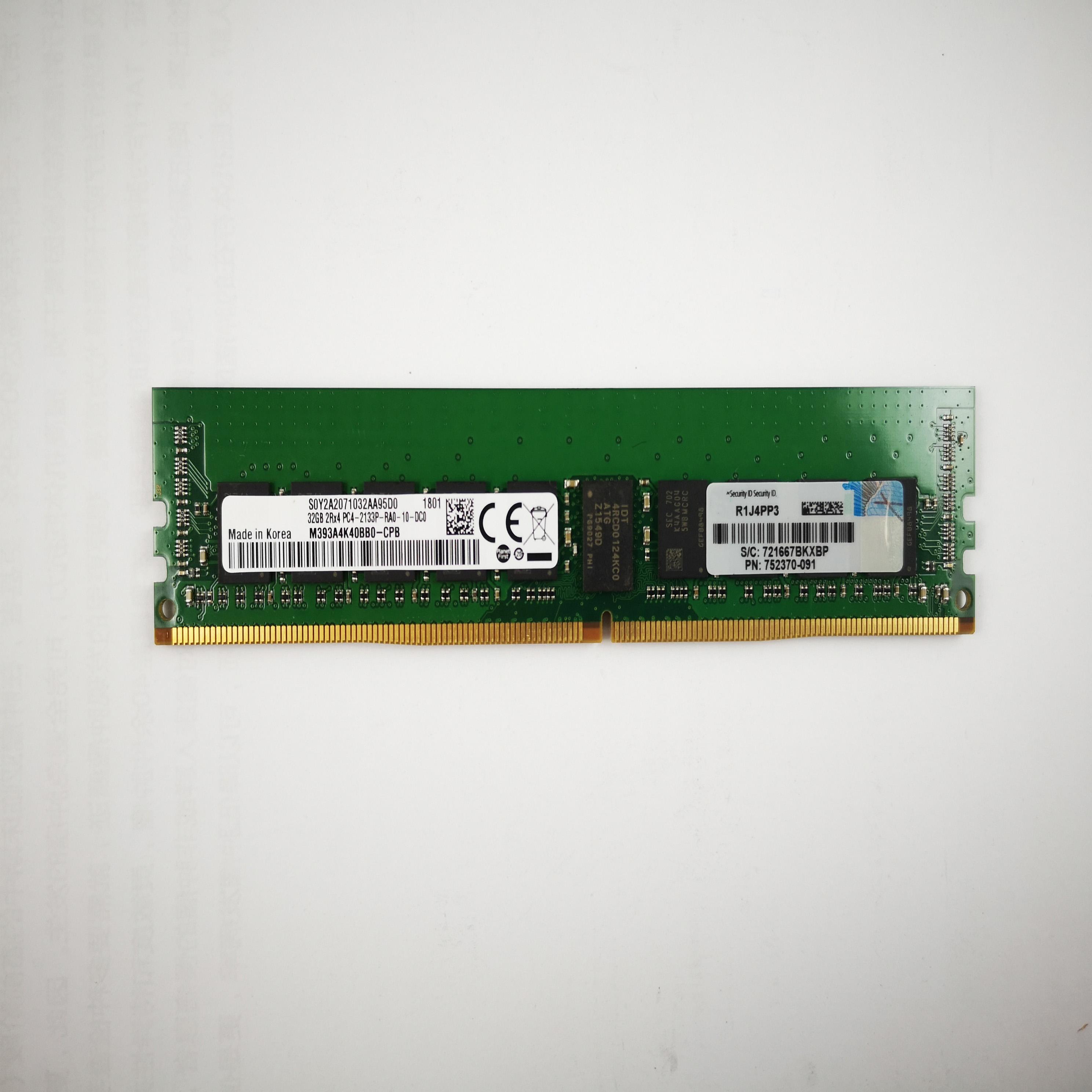 HP 628975-081 32GB PC3L-8500 DDR3-1066 LRDIMM 4Rx4 1.35V MEMORY