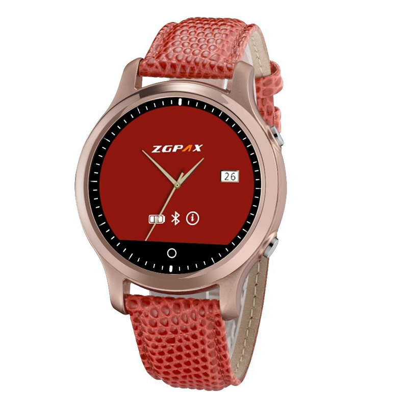 "ZGPAX S360 SOS Bluetooth Sport Smart Watch Smartwatch 1.22"" HD Screen Orologio Cellulare For Android Apple iphone Relojes Mujer"