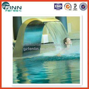 Bogen Haken Whirlpool Schwimmbad Edelstahl Innere Wasserspiele