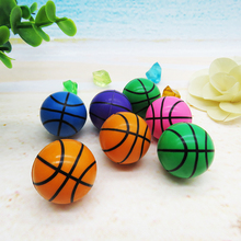 Cheap Kids vending machine toys hotsale rubber basketball bounce ball