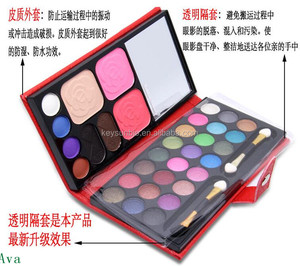 Recommend hot sale multi colors eye shadow palette branded makeup kits