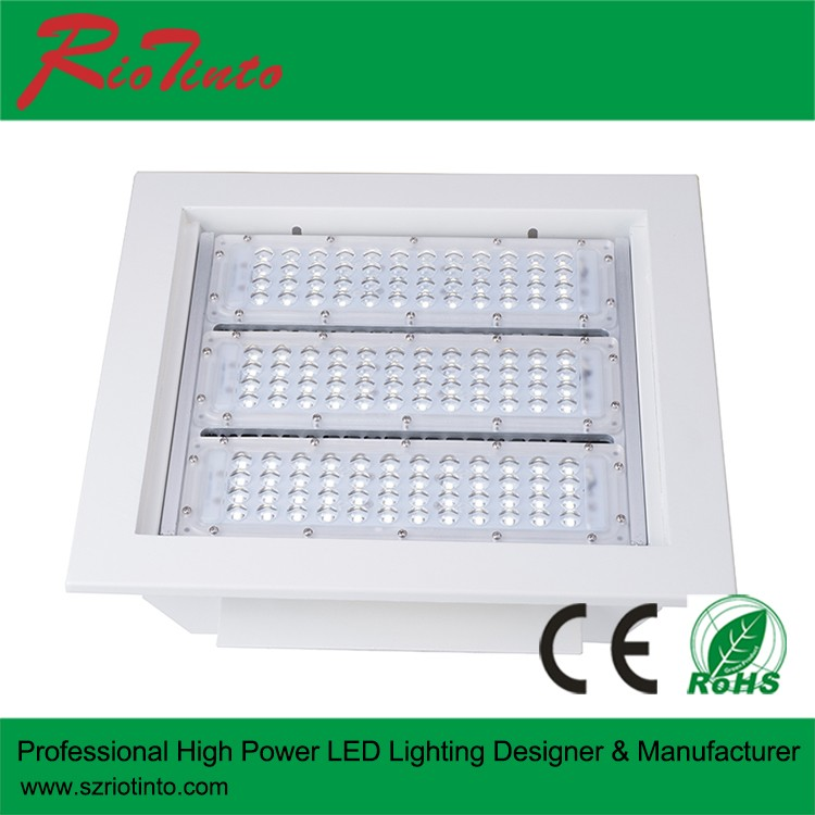 Interior Led Recessed Canopy Gas Station Lights Accept Surface ...