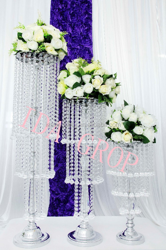 Ida Tall Centerpiece Stands Wholesale Wedding Aisle Decorations