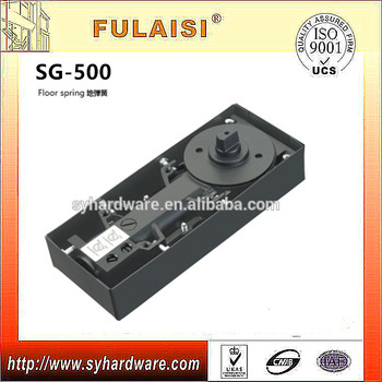 Fulaisi India Hot Sale Glass Door Floor Spring Sg 500 Wooden Door