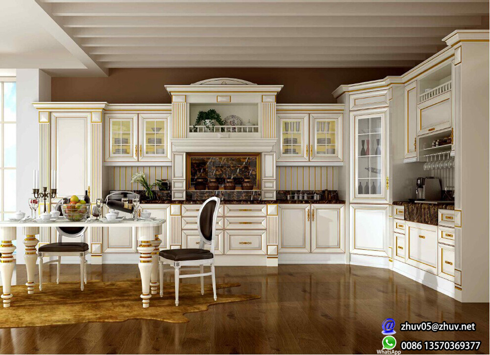 Zhihua Ash solid wood kitchen cabinet doors