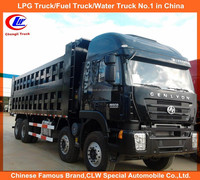 Hongyan IVECO 12 wheels dump truck 8*4 tipper truck for sale