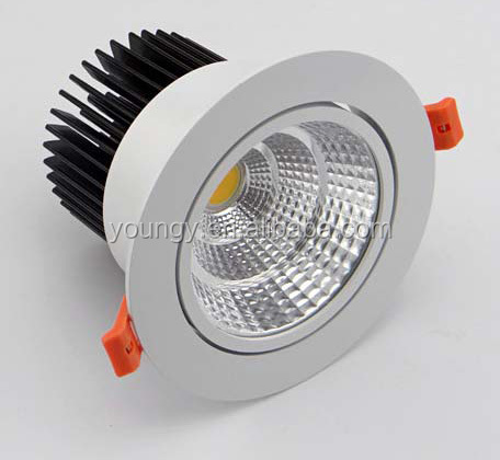 18w 25W 35W led spotlight lamp cut out 140mm cob led spotlight beam angle 15 degree led dimmable spotlight