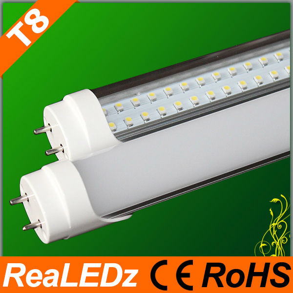 2012 newest red tube com led T8 1200mm