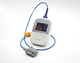 CE approved portable handheld palm neonatal pulse oximeter with alarm function
