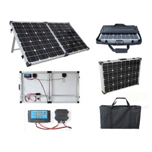 Alibabaa Website 300w Folding Solar Panel With Free Sample 12V 50W Outdoor Portable Solar Cell