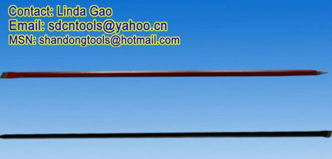 OEM oreders high quality cheap forged CB04 long tamping bar digging bar pinch bar hand tools factory
