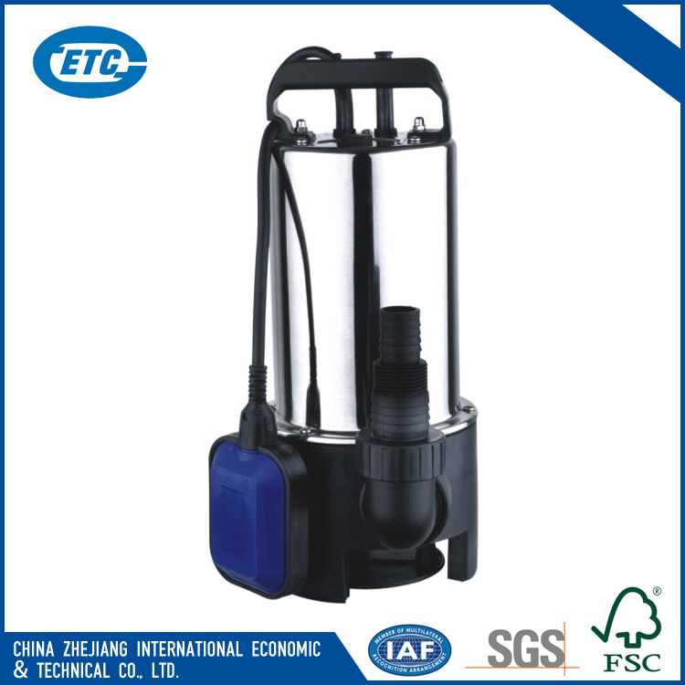 350w 3 inch outlet rain 1.47hp submersible water pump for watering rainwater