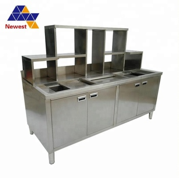 Bartender Stainless Steel Bars Counter