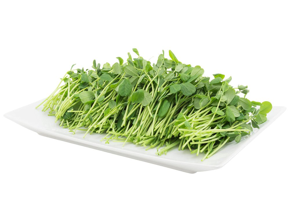 2 Friends Farm Local Northeast Organic Sweet Pea Microgreens 4oz