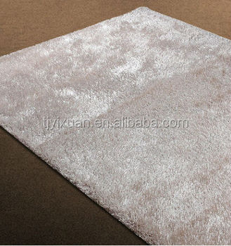 100 Microfiber Polyester Shiny Gy Rugs