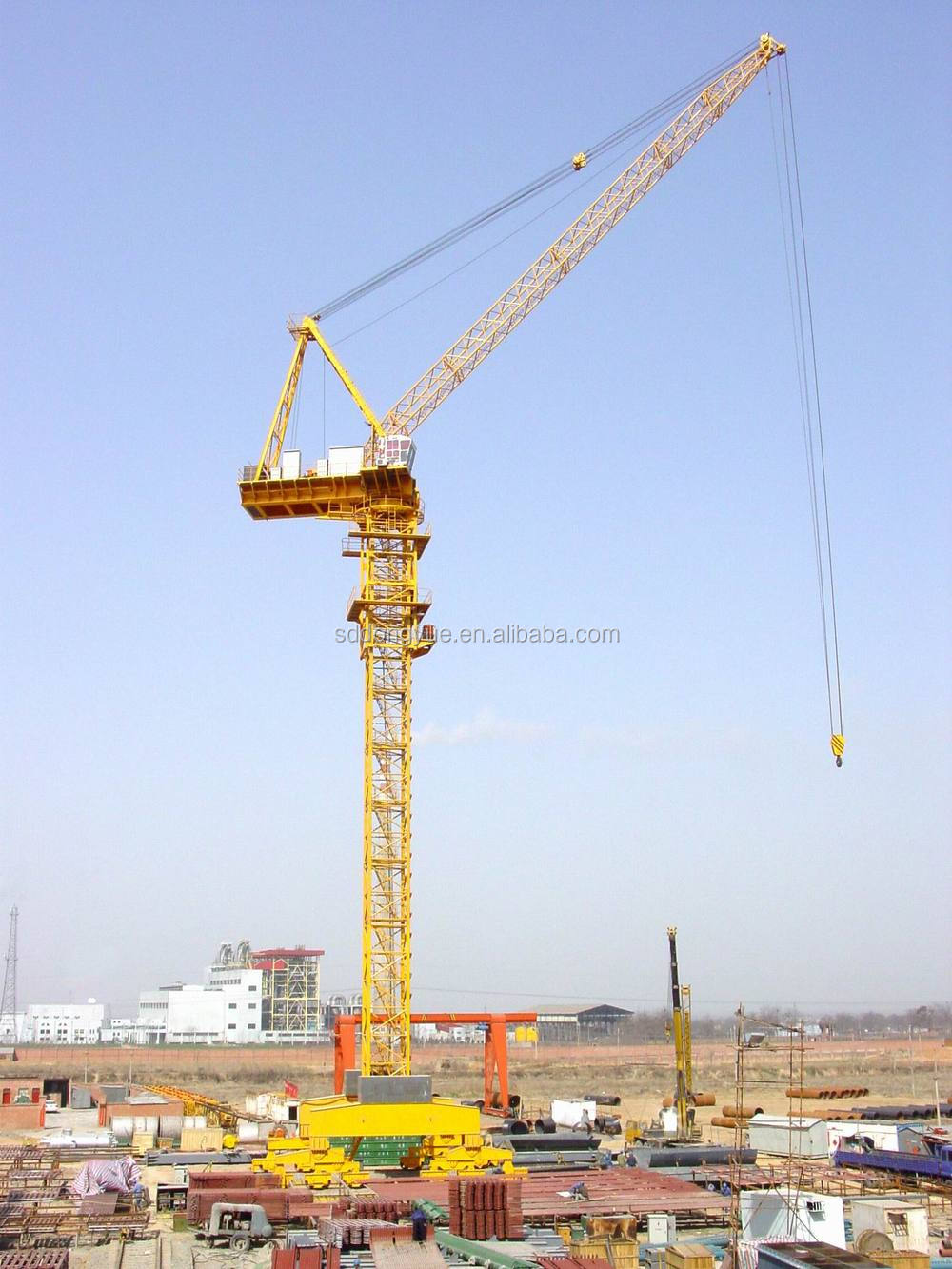 10t D5022 luffing crane for sale
