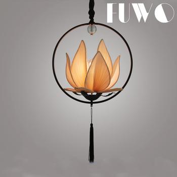 New Chinese Restaurant Lotus Lantern Lamp Lotus Antique Hotel ...