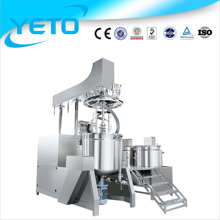 Peanut Butter Making Machine,High Shear Vacuum Emulsifying Mixer,vacuum emulsification blender