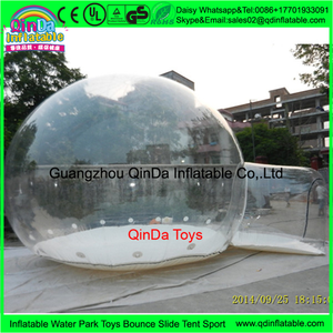 Good quality hot sell Inflatable transparent plastic tent,inflatable clear tent from china