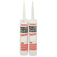 One-Component Weatherproof Silicone Sealant 300ml