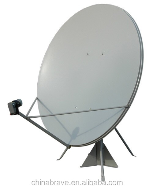 2015 all weather operation ku 120cm offset satellite dish with high gain for Malaysia