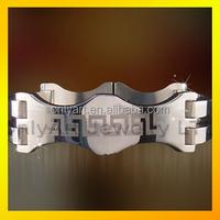 Lucky stone bracelet make your own name for men custom slap bracelets