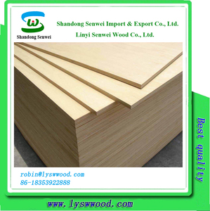 Cheap price 12mm furniture plywood die board with poplar core