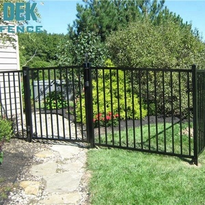Cheap price fence panels aluminum/ wrought iron fence panels for sale