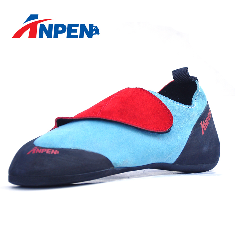 Factory Price Comfy Genuine Leather Rock Climbing Shoes For Children