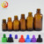 hot sales 1 oz 30 ml amber brown scale graduation dropper bottle with measurement markings