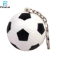 Cheap Colorful Soft Foam PU Stress Squeeze Football Keychain