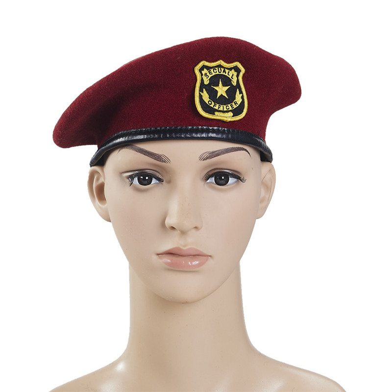 0dc2f25eef0e0 New WOOL Mens Ladies Black Beret Hat Cap Army Military - Fashion or Fancy  Dress