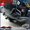 Off Road Exhaust System 4x4 Exhaust For Jeep Wrangler Jk