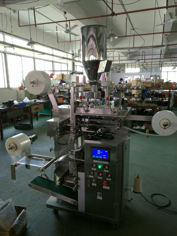 Automatic Tea Bag Packing Machine Model DXDCH-10C with label and line