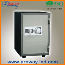 high security mechanical code lock w/3 stage lock device of cylinder fire resistant safe fireproof safe