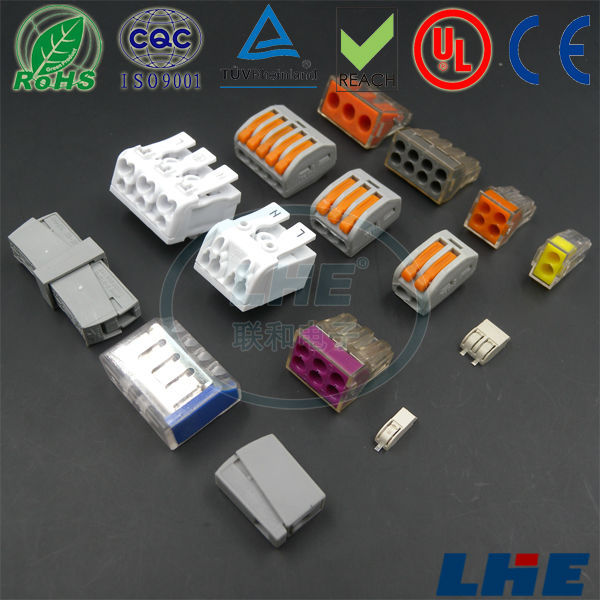 253 3pin Push Wire Connector For Junction Box - Buy 253 3pin,Push ...