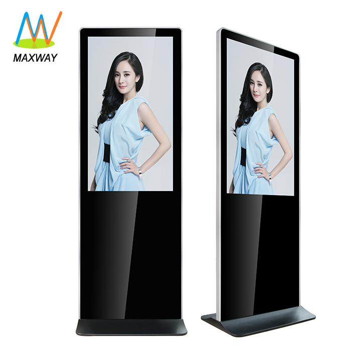 Floor Stand 32 43 49 55 Inch Android Wifi Lcd Advertising Player Free Stand Totem Digital Signage Display Kiosk