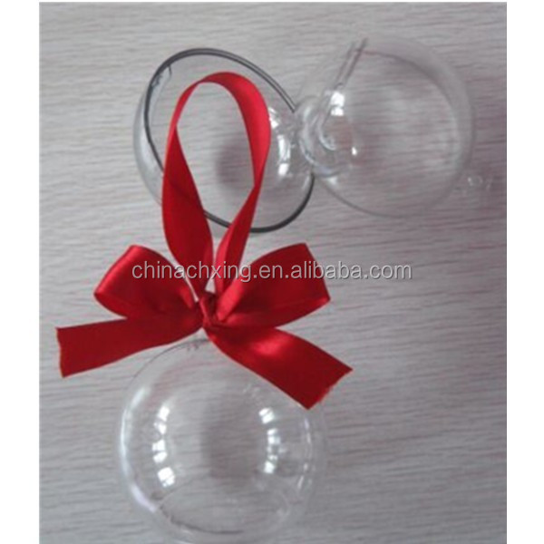 diameter 60mm clear plastic balls or transparent christmas ball or plastic capsules