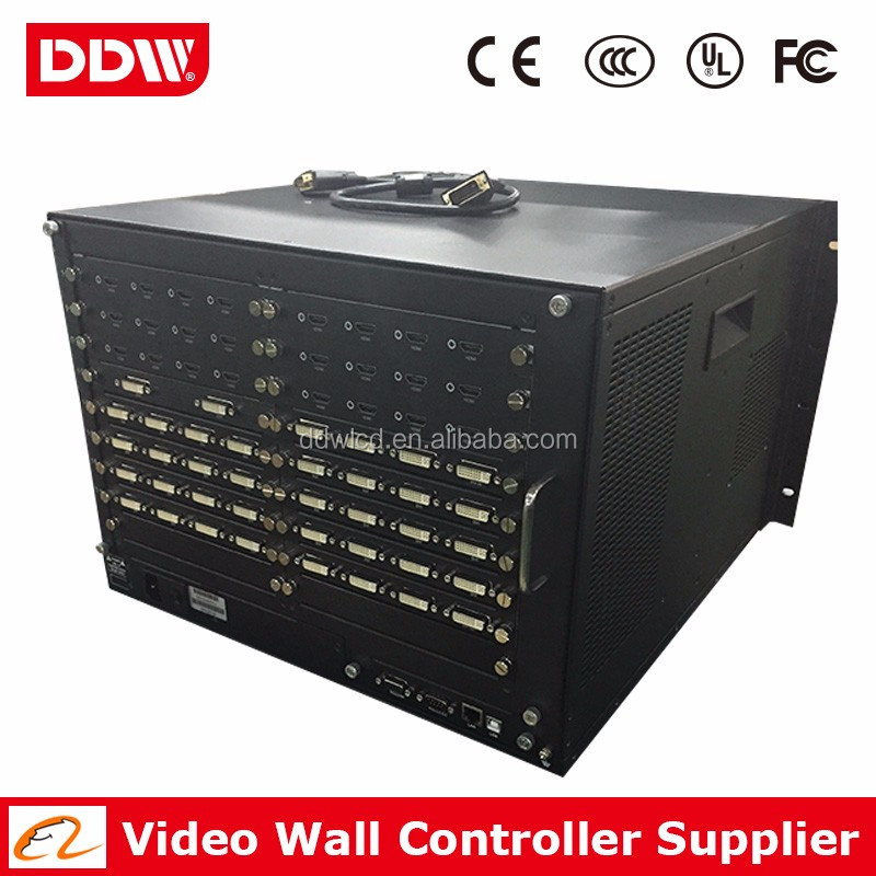 4K video wall controller for LCD video wall display dvi hdmi vga input or output