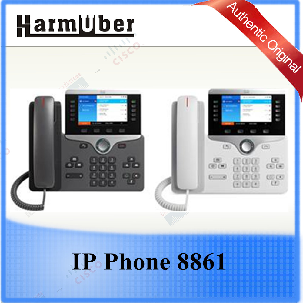 Business-class Collaboration Endpoint Cisco IP Phone CP-8861-W-K9= 8861CP-8861-K9=