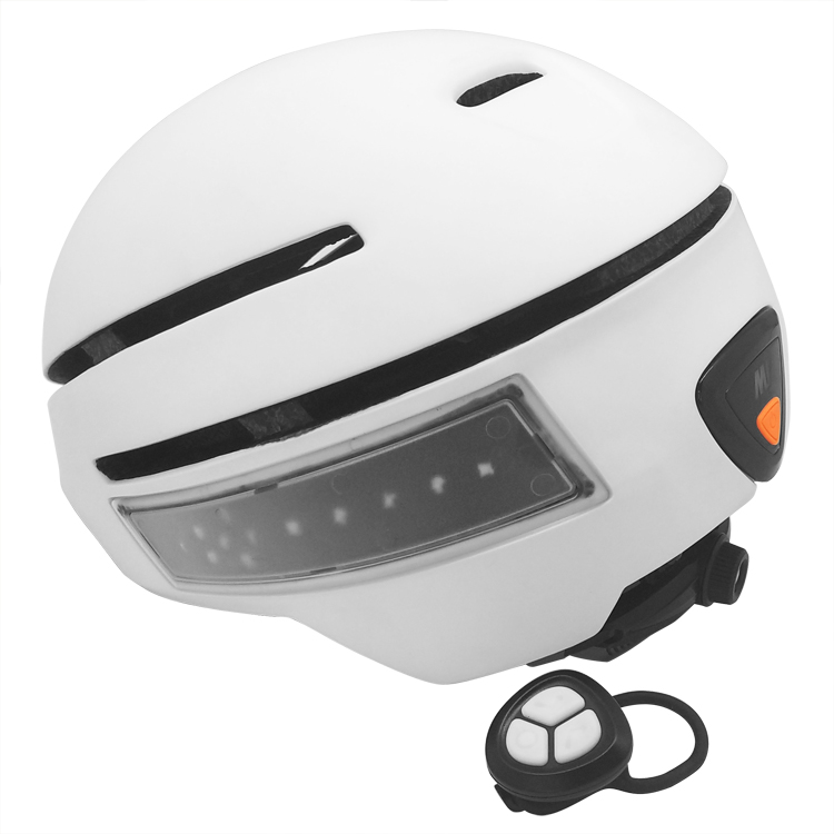 popular rechargeable LED electric bike riding helmet 11