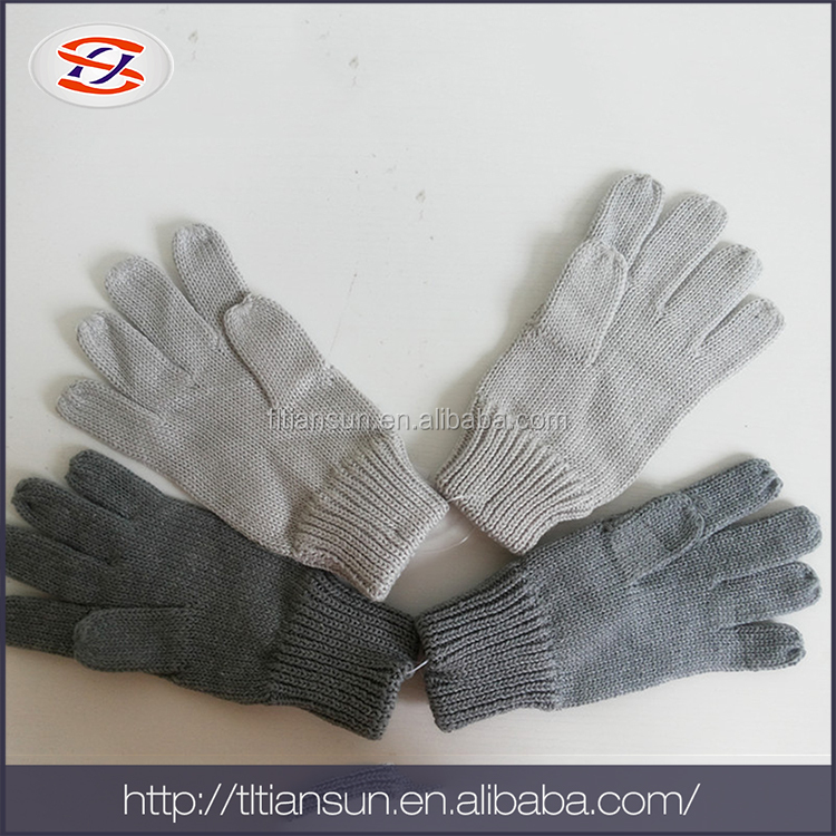 China Wholesale Market Winter Knitted Touch Screen Glove Mitten
