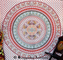 Mandala Parrot Tapestries Hippie Indian Wall Hanging Tapestry Bedspread Bohemian Tapestry Wall Hanging Dome Decor